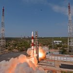 Photos: 40th PSLV blasts off with 31 Satellites for India & International Customers