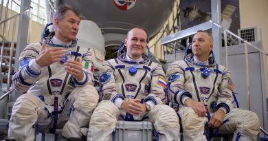 Next Space Station Crew Arrives at Baikonur Launch Site