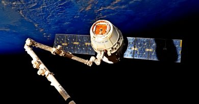 SpaceX Dragon Parachutes to Pre-Sunrise Splashdown, capping First Re-Use Flight