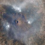 Mount Vesuvius Wildfires Captured from Space