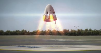 SpaceX cuts Plans for Powered Dragon Landings, places Focus on Commercial Crew