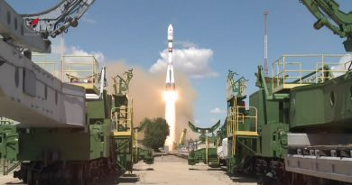 Video: Soyuz Rocket Blasts Off on Multi-Orbit Cluster Mission