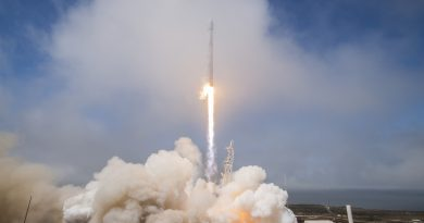 Falcon 9's Light-Lift Mission Places Taiwan's FormoSat-5 into Orbit, 1st Stage Recovered at Sea