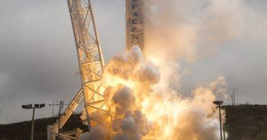 Photos: Falcon 9 blasts off from California with Taiwanese Satellite