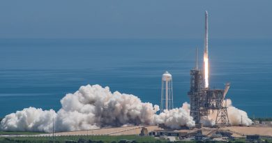 Successful Monday Commute to Orbit for Dragon Cargo Craft, Falcon 9 aces another Landing
