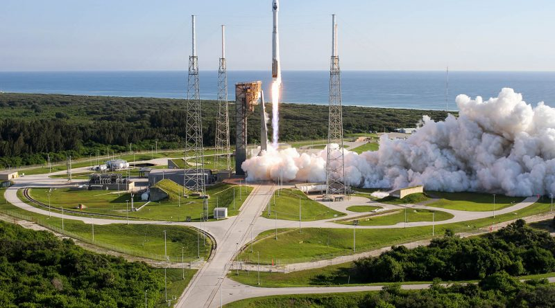 NASA's Newest Tracking & Data Relay Satellite Sails into Orbit aboard ULA Atlas V Rocket
