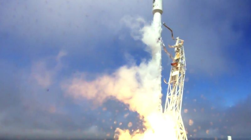 Video: Falcon 9 Launches FormoSat-5 & 1st Stage Lands on Pacific Drone Ship