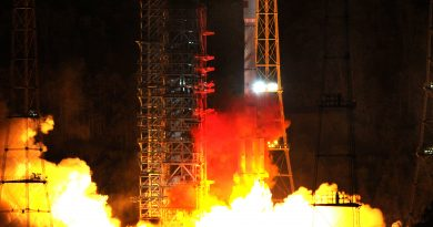 Re-Entry: Long March 3B Upper Stage from Beidou M3/M4 Launch