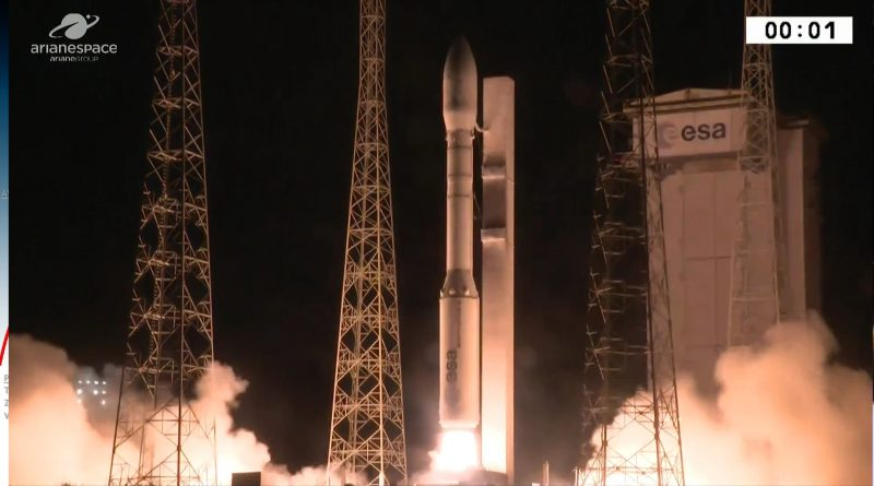 Vega Rocket Successfully Lifts Israeli-Built Earth-Watching Satellites for Science & Reconnaissance