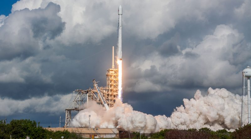 fifth x 37b mission sent into orbit by falcon 9 rocket 1st stage lands at cape canaveral