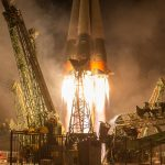 Photos: Soyuz Rocket Blasts Off with Russian-American ISS Crew Trio
