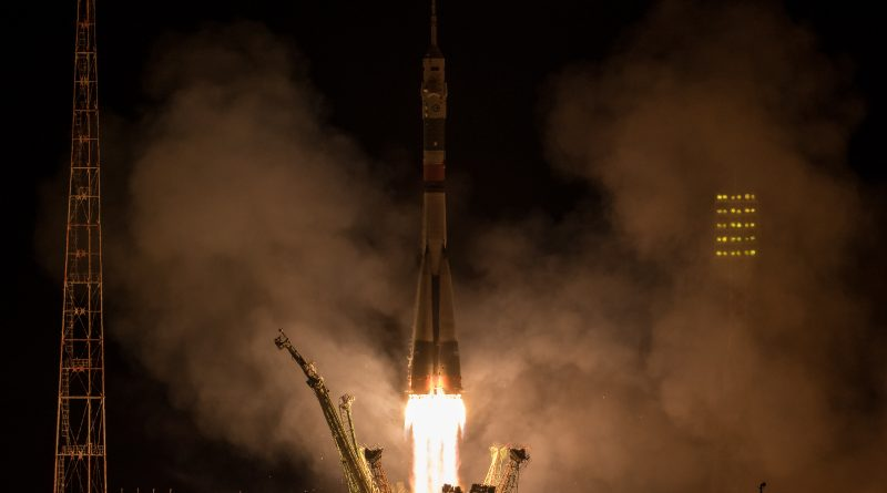 Three Crewmen Arrive at International Space Station after Express Soyuz Rendezvous