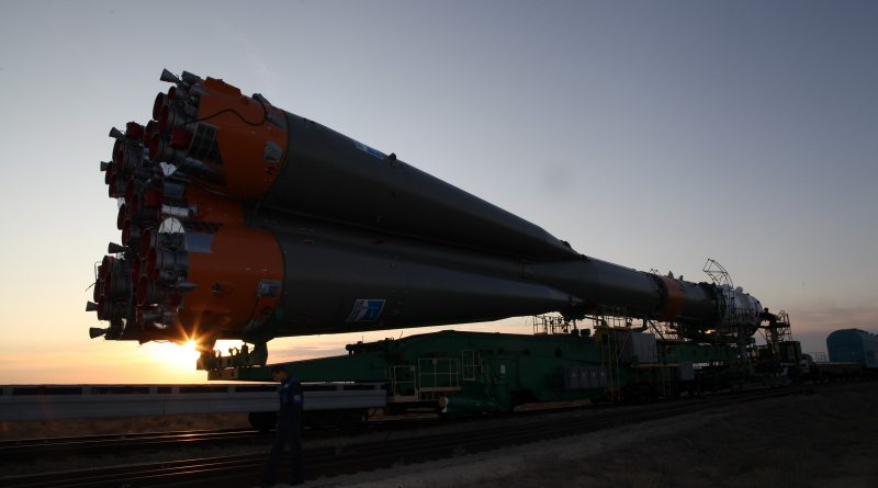 Photos: Soyuz Rocket Rolls Out to Historic Baikonur Launch Pad