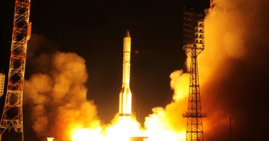 All-Night Proton Ascent Mission Successfully Delivers Amazonas 5 Communications Satellite