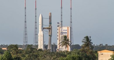 Ariane 5 Returns to French Guiana Launch Pad for Second Attempt with Intelsat 37e & BSat-4a