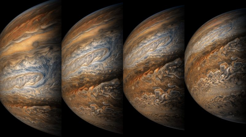 Photos from Juno's Seventh Science Flyby of Jupiter