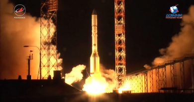 Video: Proton-M Lifts Off from Baikonur with TV & Internet Satellite