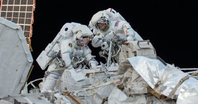 ISS Spacewalk Effort to Conclude with Friday EVA to Replace Cameras, Fuses; Prepare for Robotic Work