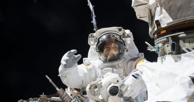 Gallery: Spacewalkers Work Outside Space Station to Repair Robotic Arm
