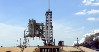 Falcon 9 Static Fire Test Clears Way for Monday Liftoff with KoreaSat 5A