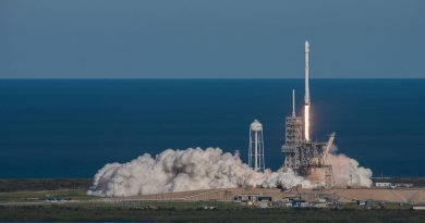 Falcon 9 Delivers KoreaSat 5A for KT Sat; First Stage Sticks Fiery Drone Ship Landing