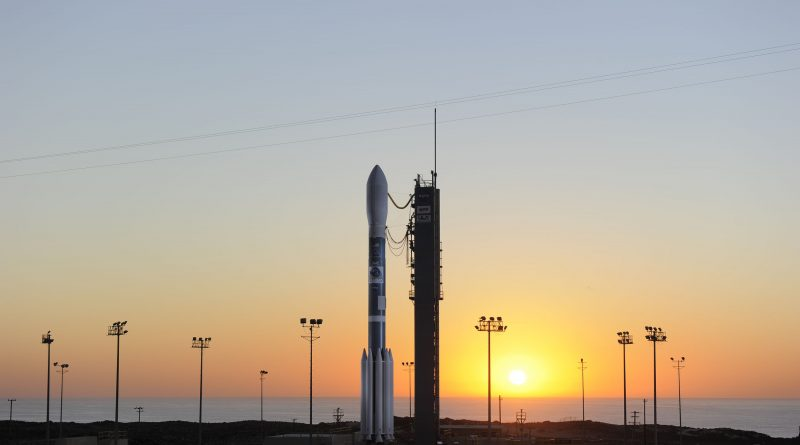 Penultimate Delta II Rocket Stands Ready for JPSS-1 Weather Satellite Launch from California