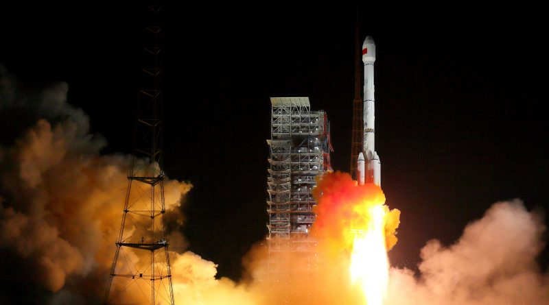 Long March 3B Rocket Lifts off with two Chinese Navigation Satellites
