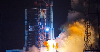 Chinese Long March 3B Launches APStar-6C Communications Satellite