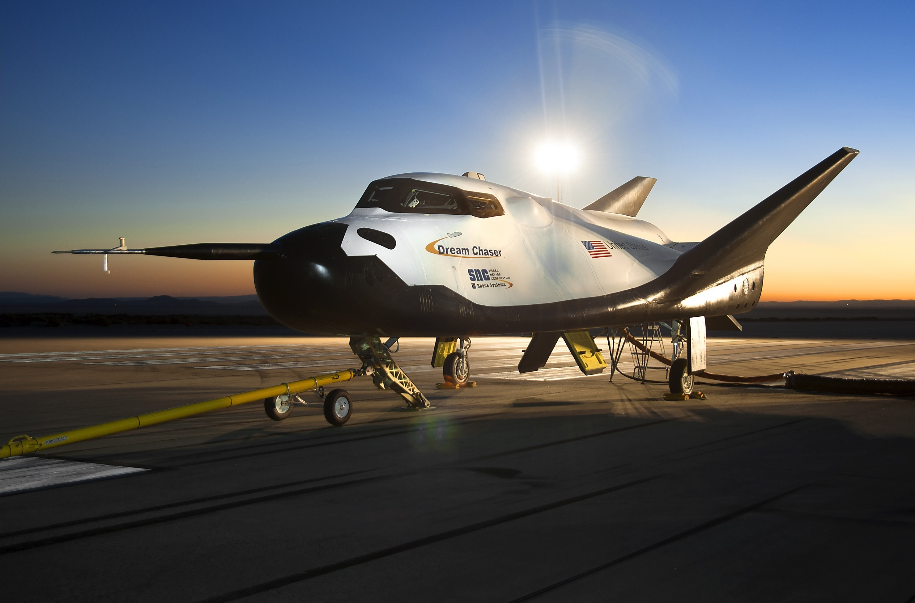 Image result for United Nations Office for Outer Space Affairs and Sierra Nevada Corporation issue Call for Interest for Dream Chaser® mission dedicated to the Sustainable Development Goal