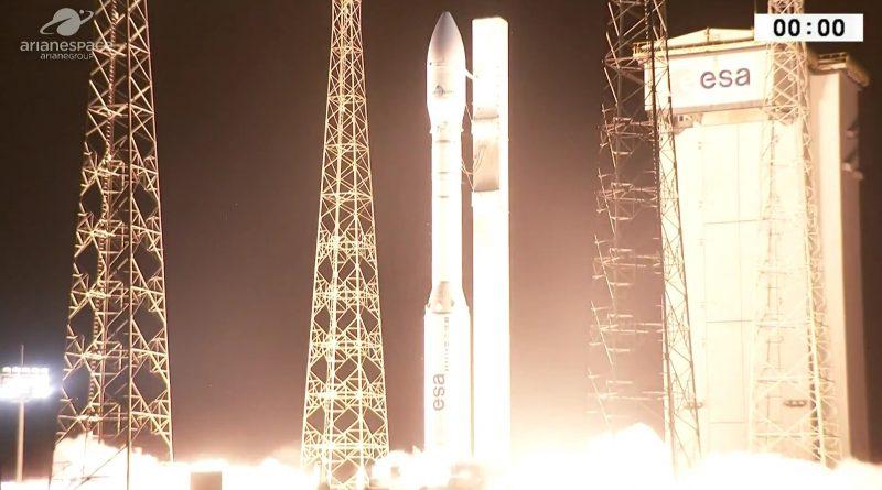 Video: Vega Launches Mohammed VI-A Satellite