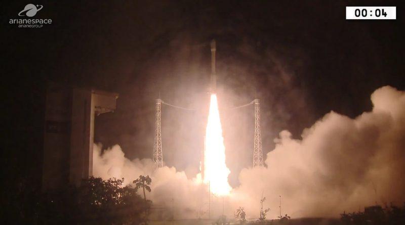 Moroccan Image Reconnaissance Satellite Sent into Orbit by European Vega Rocket