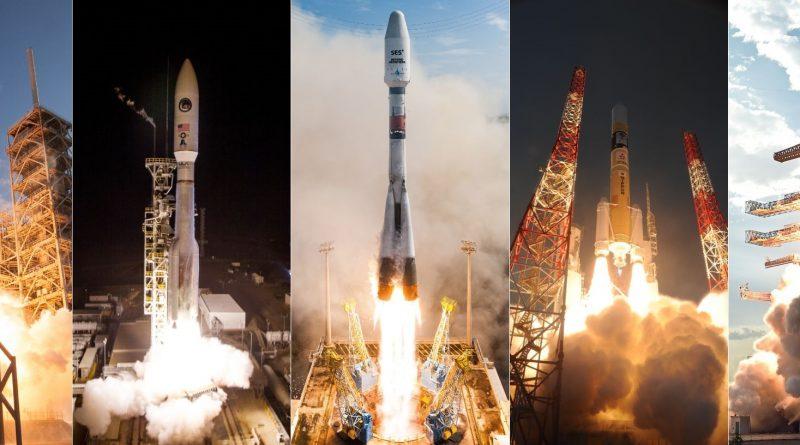 2017 Space Launch Statistics