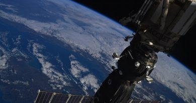 Crew Members from Russia, U.S. & Japan Arrive at Space Station after Two-Day Soyuz Flight