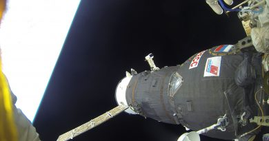 Progress MS-06 Cargo Craft Closes Out 196-Day Mission with ISS Departure & Re-Entry