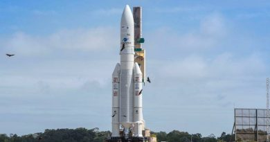 Ariane 5 Reaches Launch Pad for Dual-Payload Delivery with SES 14 & Al Yah 3