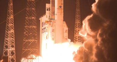 Ariane 5 Launch Anomaly Leaves Uncertainty on Status of Commercial Satellite Duo