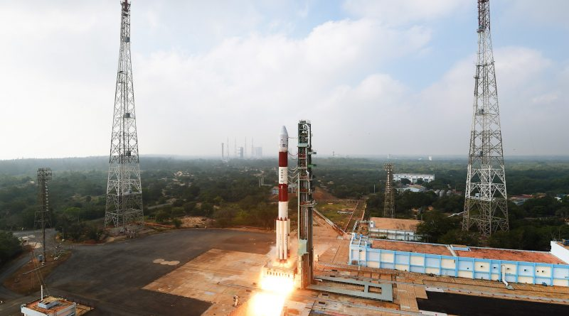 Photos: PSLV Soars Off with Multi-Satellite Payload