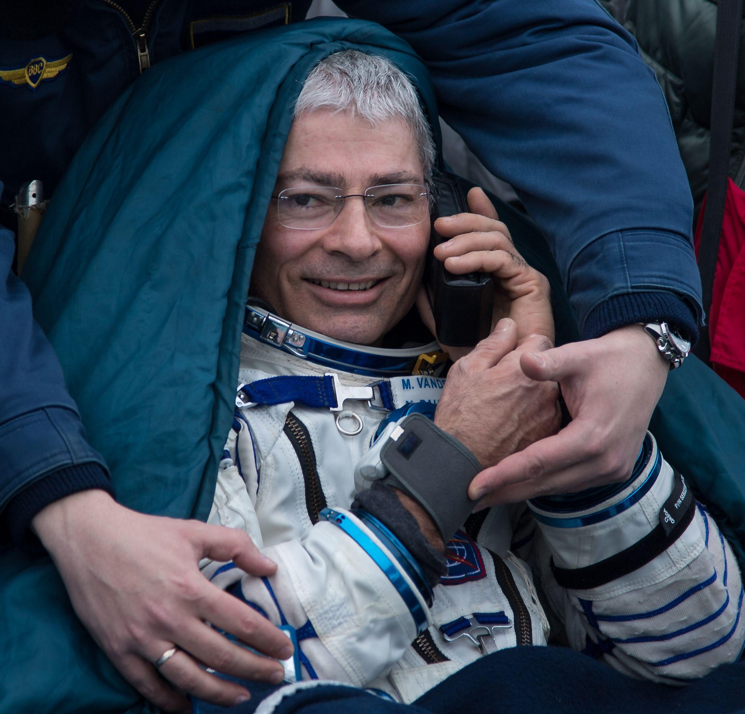 Марк Ванде Хай, астронавт