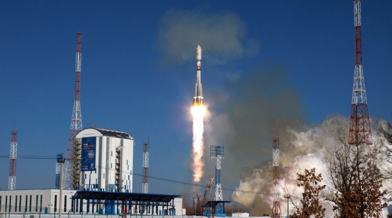 Photos: Soyuz Thunders Off from Snow-Covered Vostochny Cosmodrome