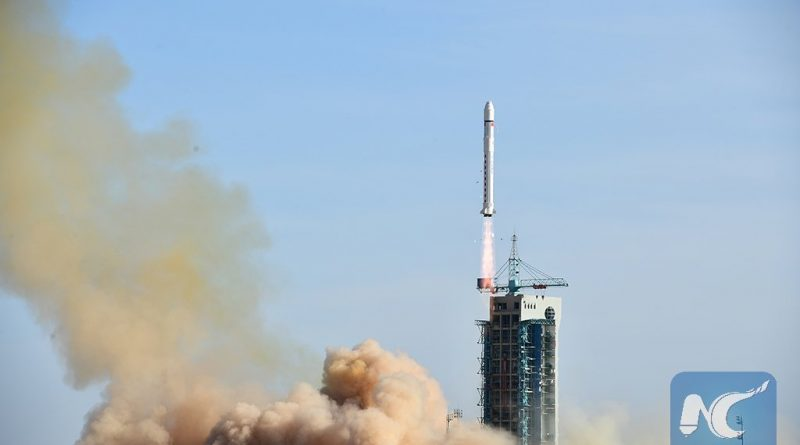 Chinese Long March 2D Launches Earthquake Research Satellite & Six MicroSatellites