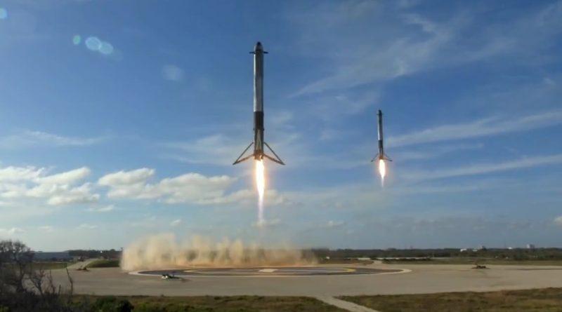 Video: Falcon Heavy's Long-Awaited Shakedown Mission