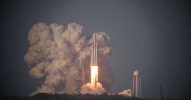 Video Collection: Falcon Heavy Launch & Simultaneous Booster Return from around Cape Canaveral