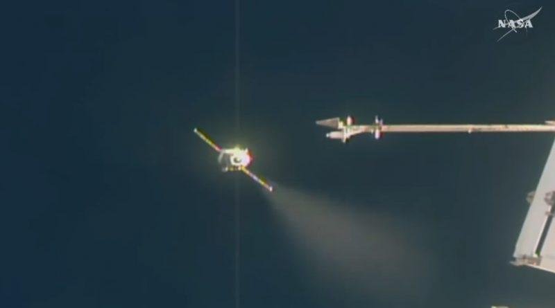 Video: Progress MS-08 Launch & Docking