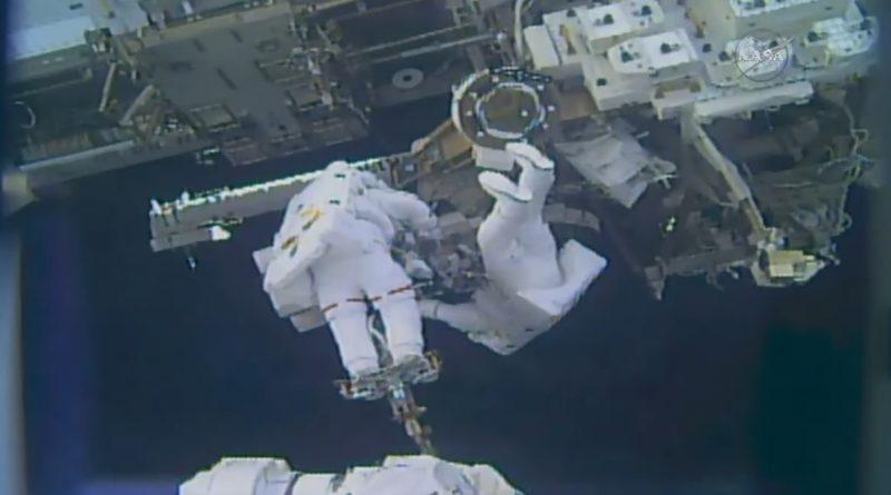 U.S.-Japanese Spacewalking Duo Aces Final ISS Robotics Rejuvenation EVA + Get-Ahead Tasks