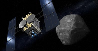 Eyes on Target: Japan's Hayabusa 2 Takes First Images of Asteroid Ryugu