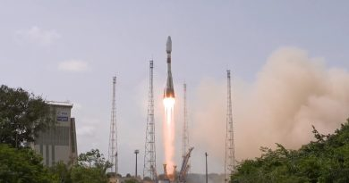 Soyuz Rocket Fires into Orbit with Fourth Group of O3b Network Satellites