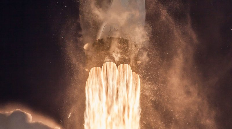 Photos: Falcon 9 Races into Crystal Clear Skies with TESS Exoplanet Mission