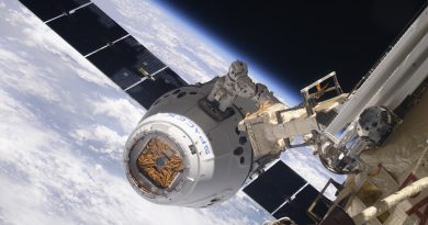 Dragon CRS-14 Arrives at ISS after Textbook Rendezvous for Critical Science Delivery