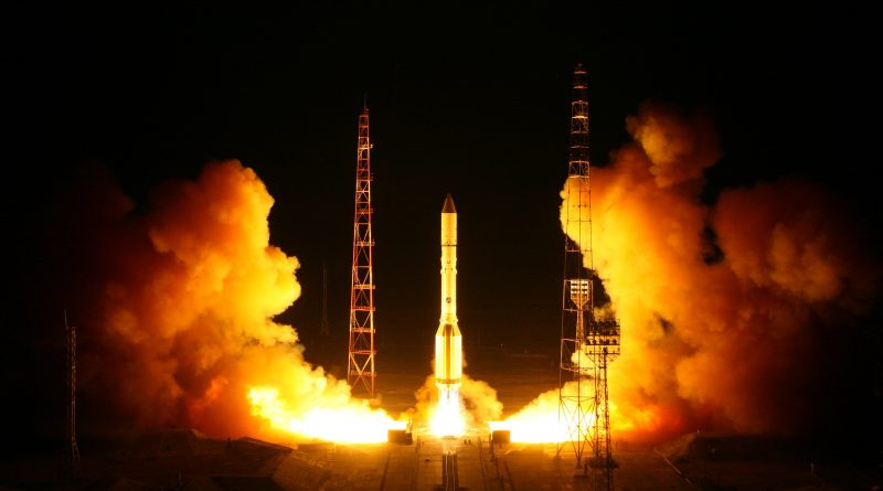 Russia's 2nd Blagovest Military Communications Satellite Blasts off on First Proton of 2018