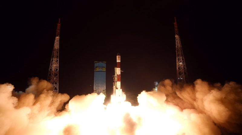 Impressive PSLV Night Launch Sends Replacement Craft for India's Navigation Constellation to Orbit